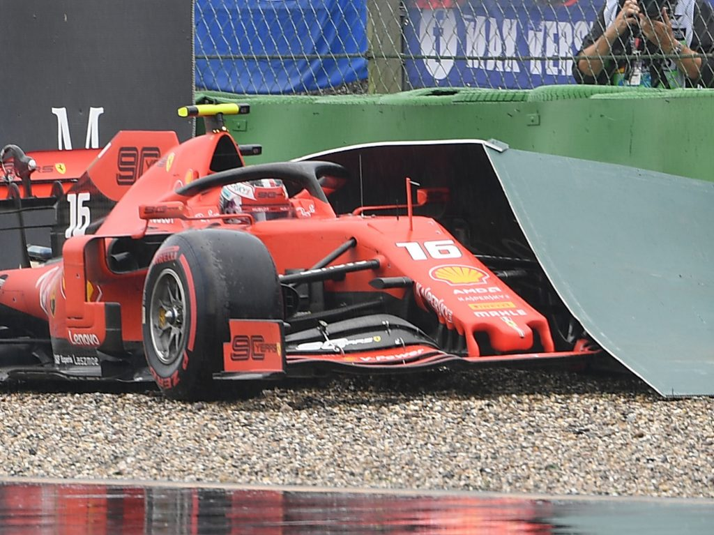 Charles Leclerc 'threw away too many points'