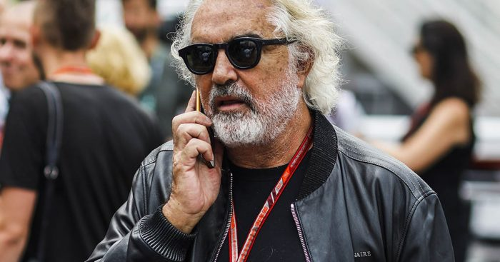 Flavio Briatore: Twice held Ferrari talks