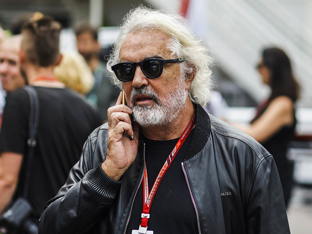 Flavio Briatore: Twice held Ferrari talks