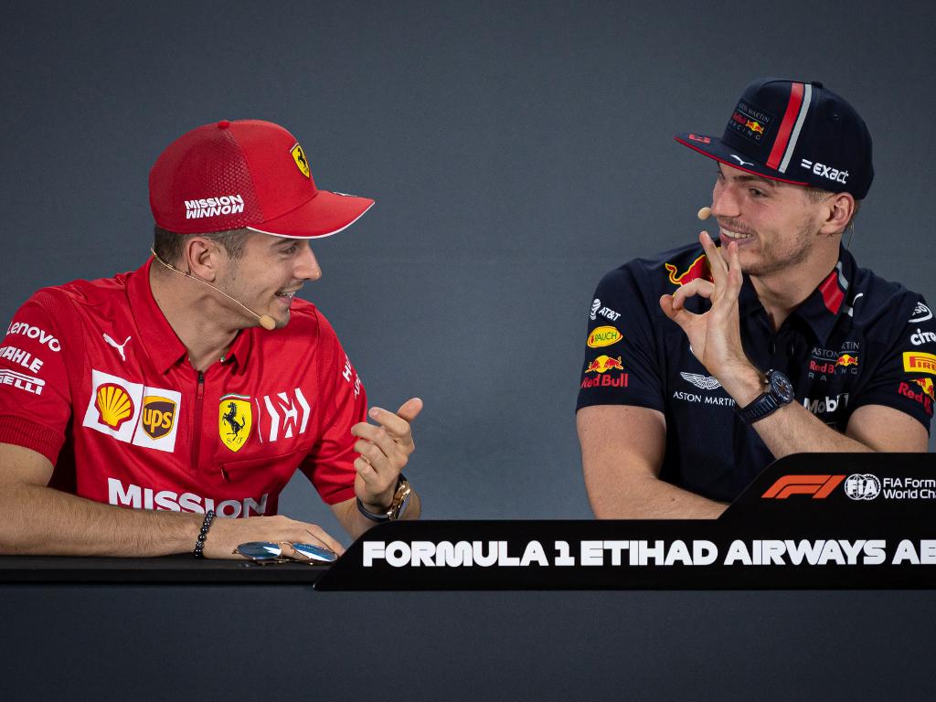 Charles Leclerc Ferrari Max Verstappen Red Bull