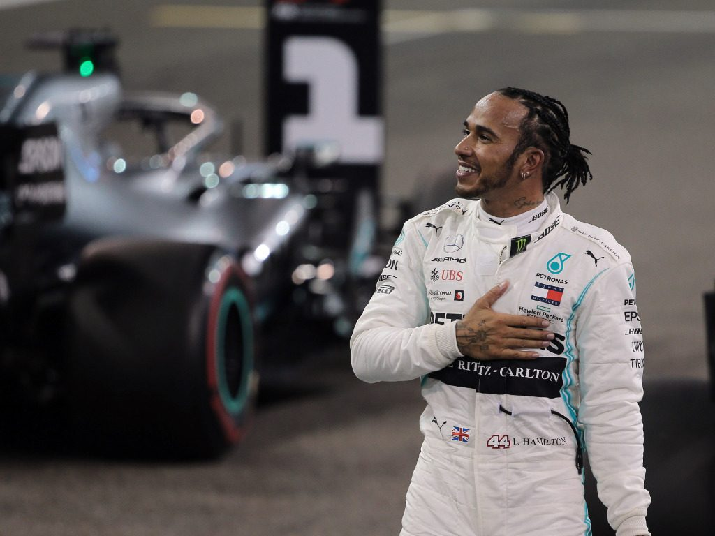Captain Tom Moore backs Lewis Hamilton to win seventh title.
