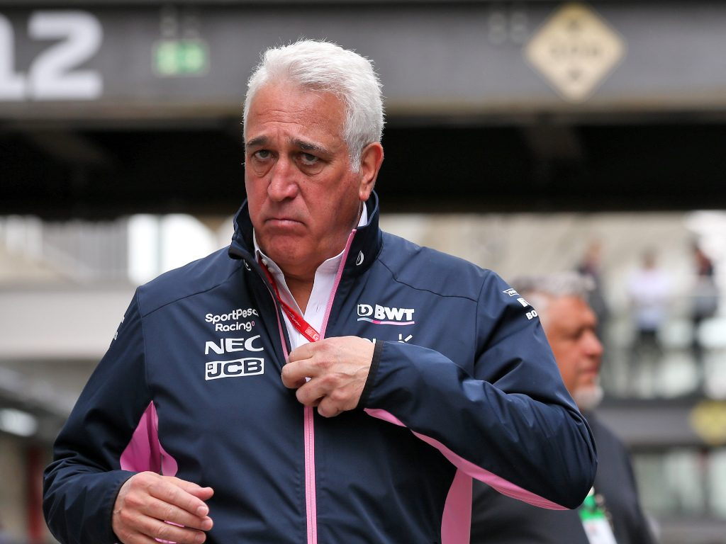 """Aston Martin F1 team will be the """"foundation"""" of the company's new strategy says Lawrence Stroll."""