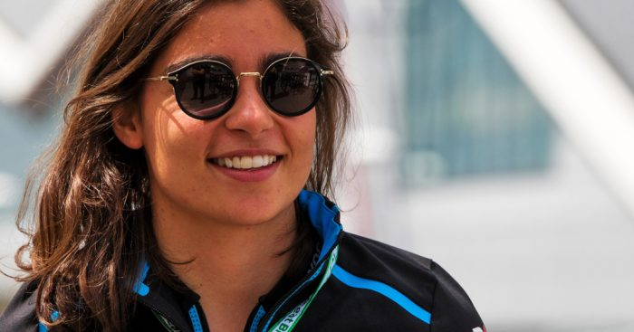 Jamie Chadwick admits she's 'not ready' for Williams seat