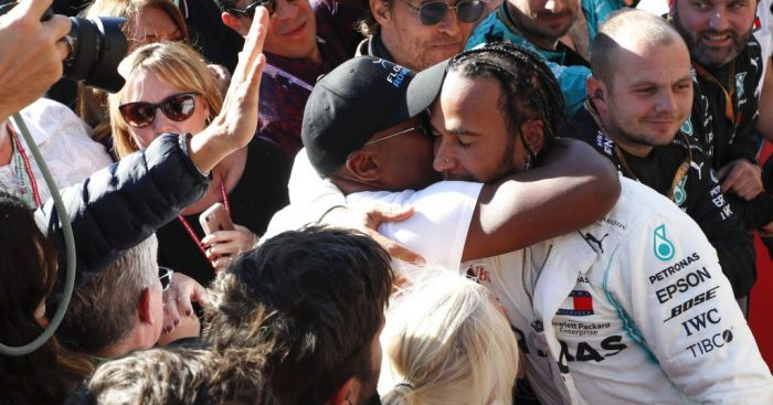 Lewis Hamilton discusses rebuilding the relationship with his dad.
