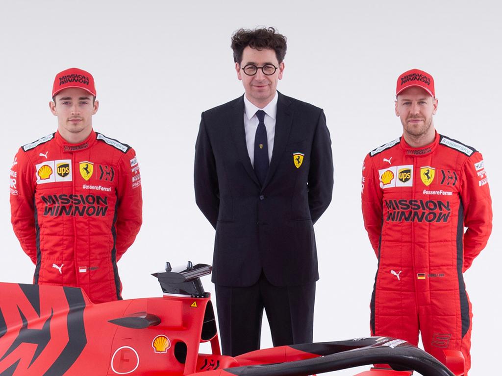 Sebastian Vettel and Charles Leclerc on 'same level' for 2020 season