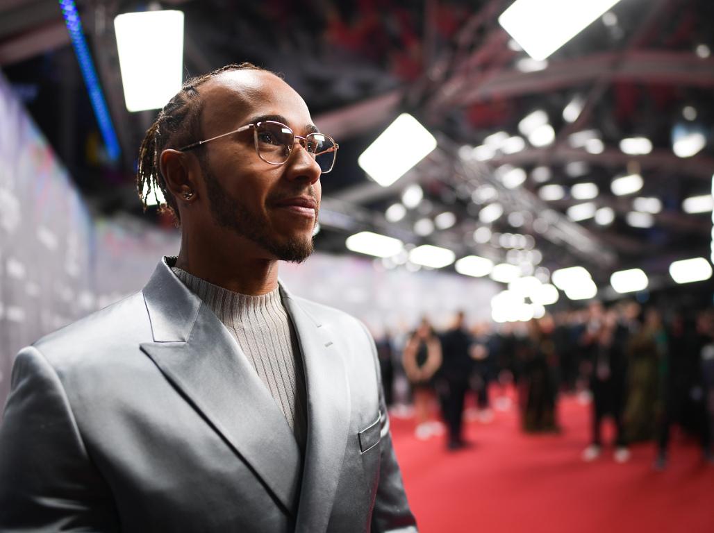 Lewis Hamilton shares Laureus Sportsman award with Messi