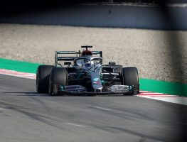"""Valtteri Bottas happy with early signs from W11 but there are still """"weaknesses""""."""