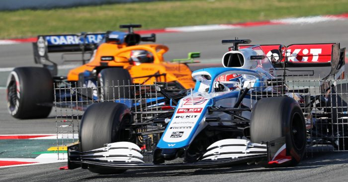Williams made a 'real point' with very first lap