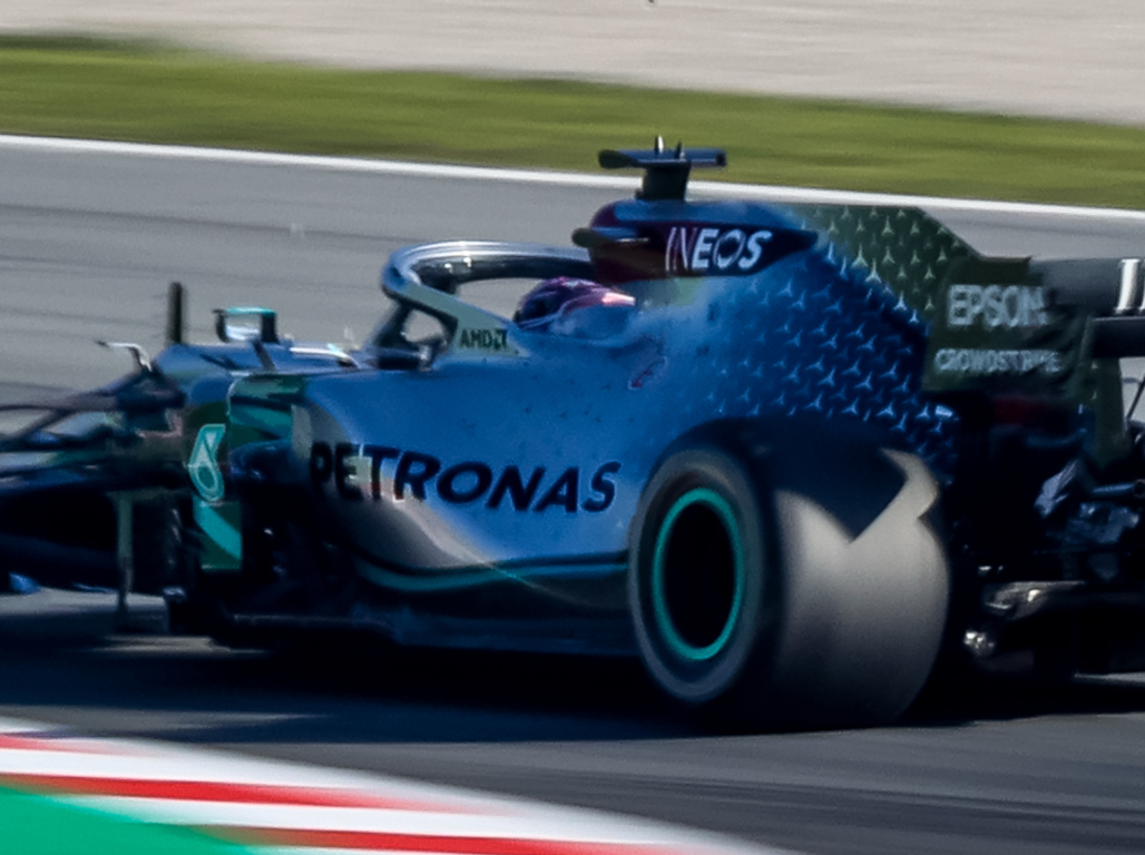 "DAS worth ""two tenths"" for Mercedes says Helmut Marko."