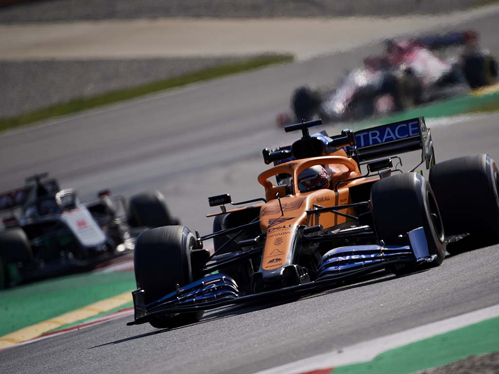 Carlos Sainz McLaren PA