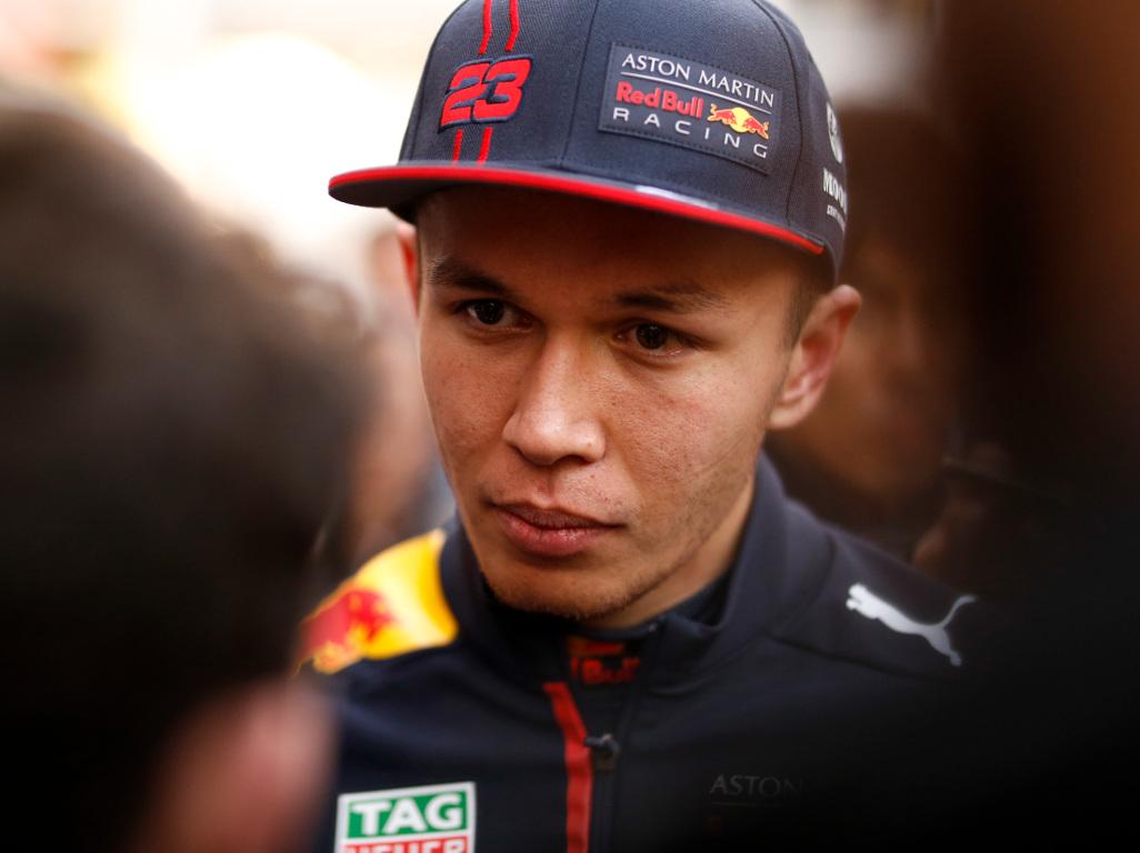 Alexander Albon hails 'more usable' Red Bull RB16