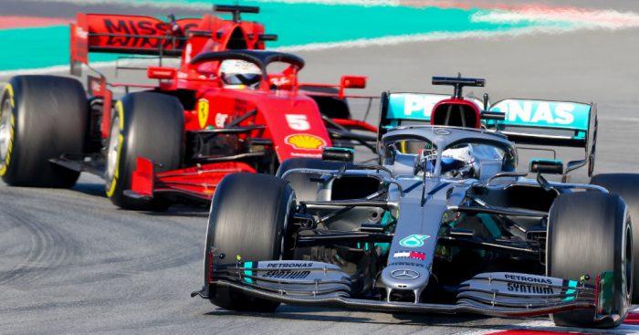 Mercedes conclude Ferrari had heavy sandbags in first test
