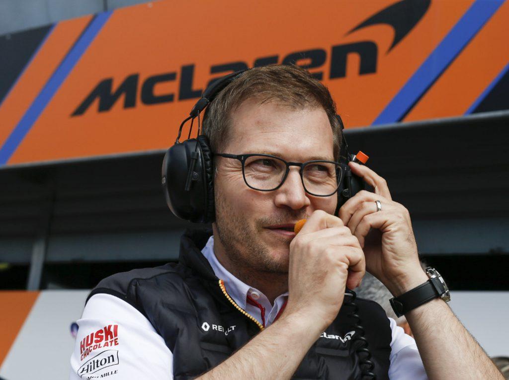 Andreas Seidl McLaren