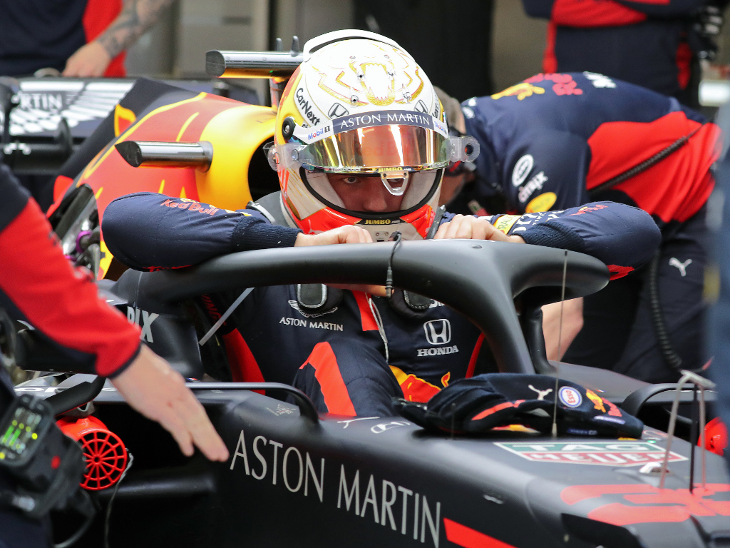 """Max Verstappen says the banking adds a """"new dimension"""" to Zandvoort."""