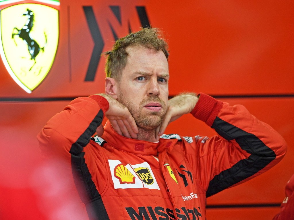 Sebastian Vettel given first new contract offer by Ferrari, and it involves a pay cut.