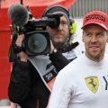 """Sebastian Vettel's future with Ferrari is """"all in his hands"""" says Mattia Binotto."""