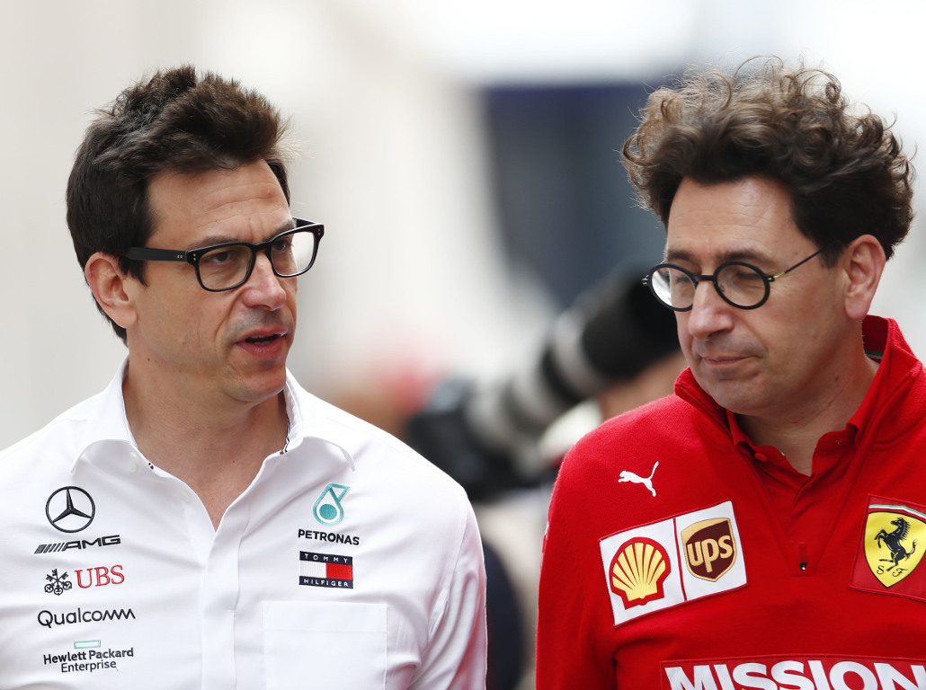 Ferrari criticise Mercedes for contract silence and blocking reverse-grid races.