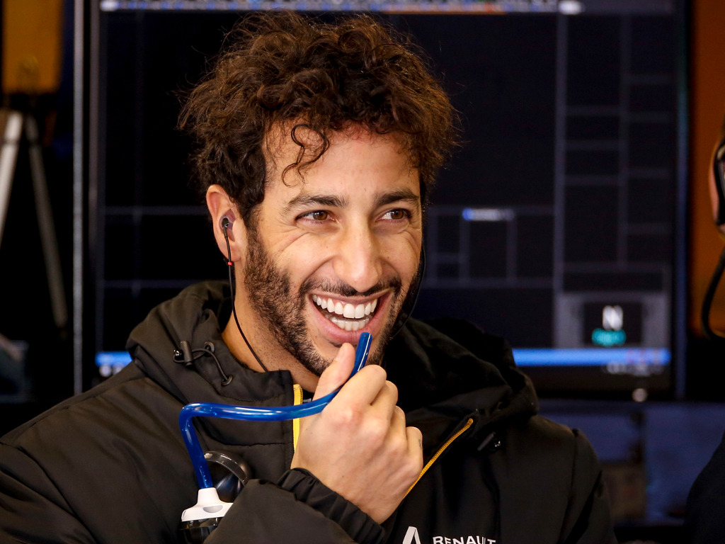 Daniel Ricciardo jokes that he plans to start the 2020 season-opener from the back of the grid.