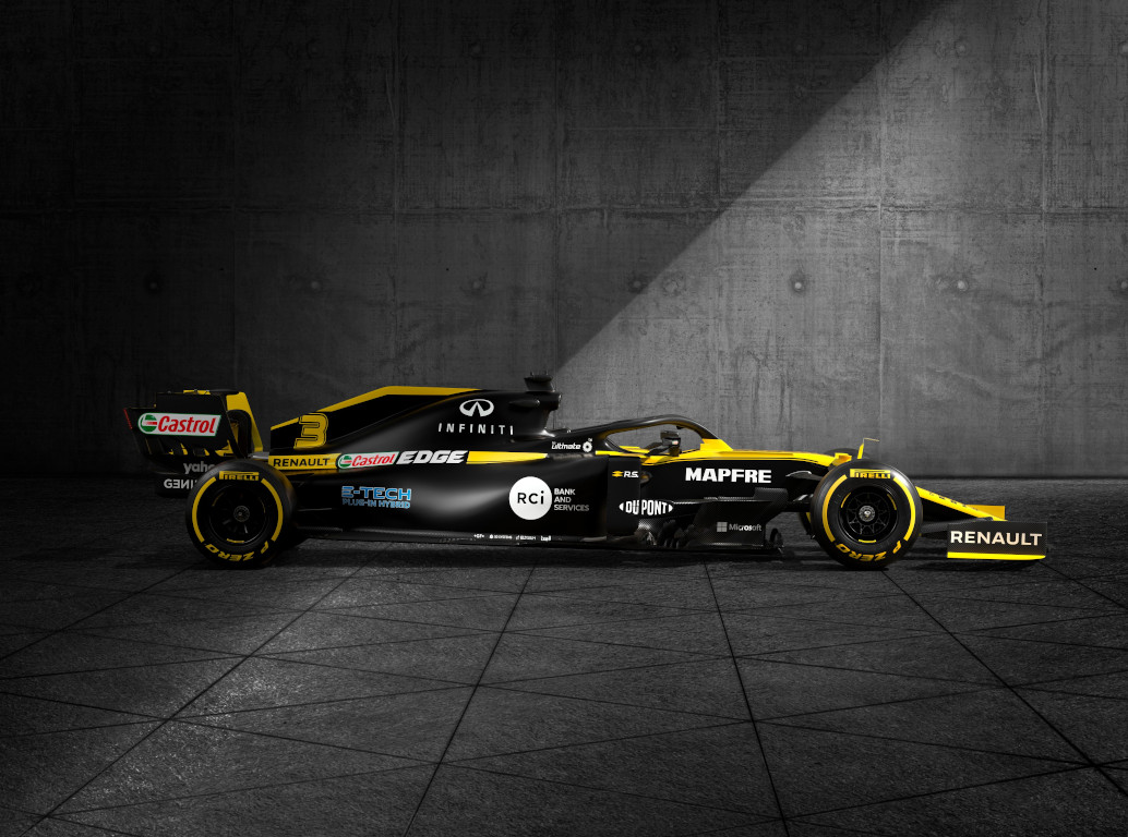 Renault reveals its 2020 race livery