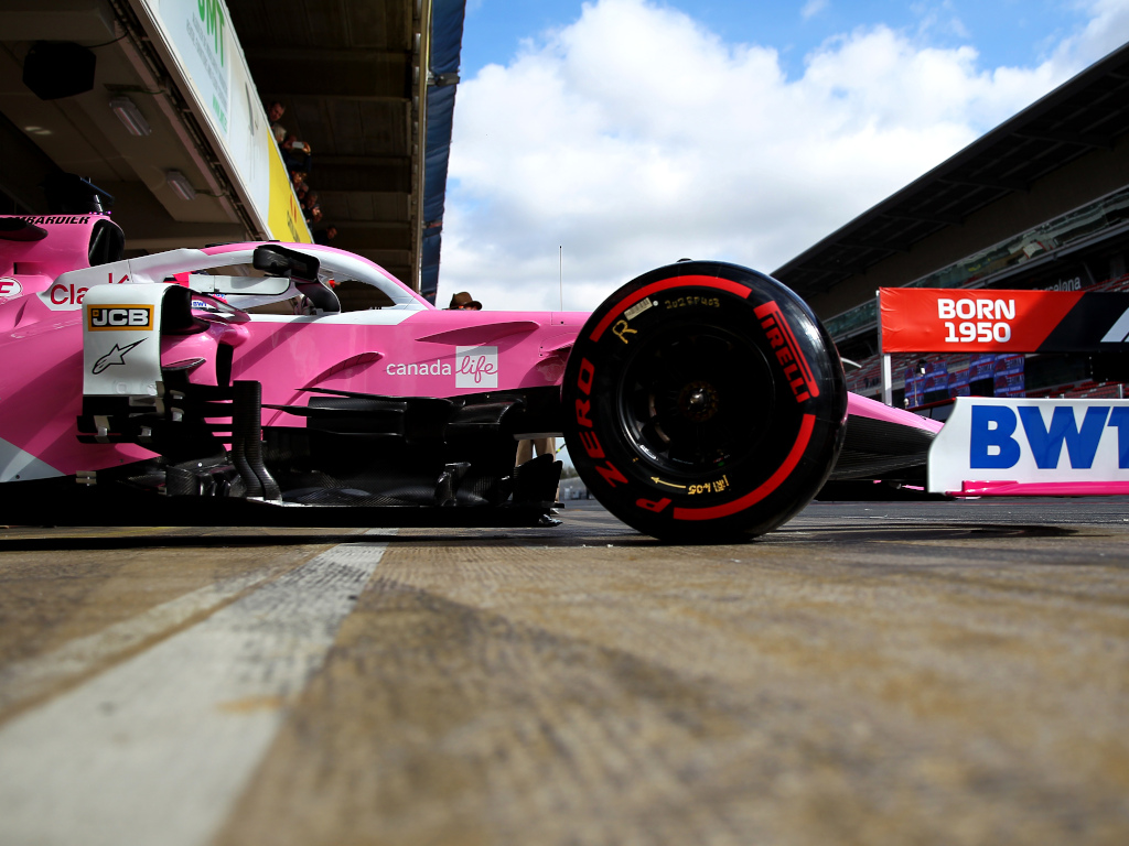 Sergio Perez Racing Point RP20