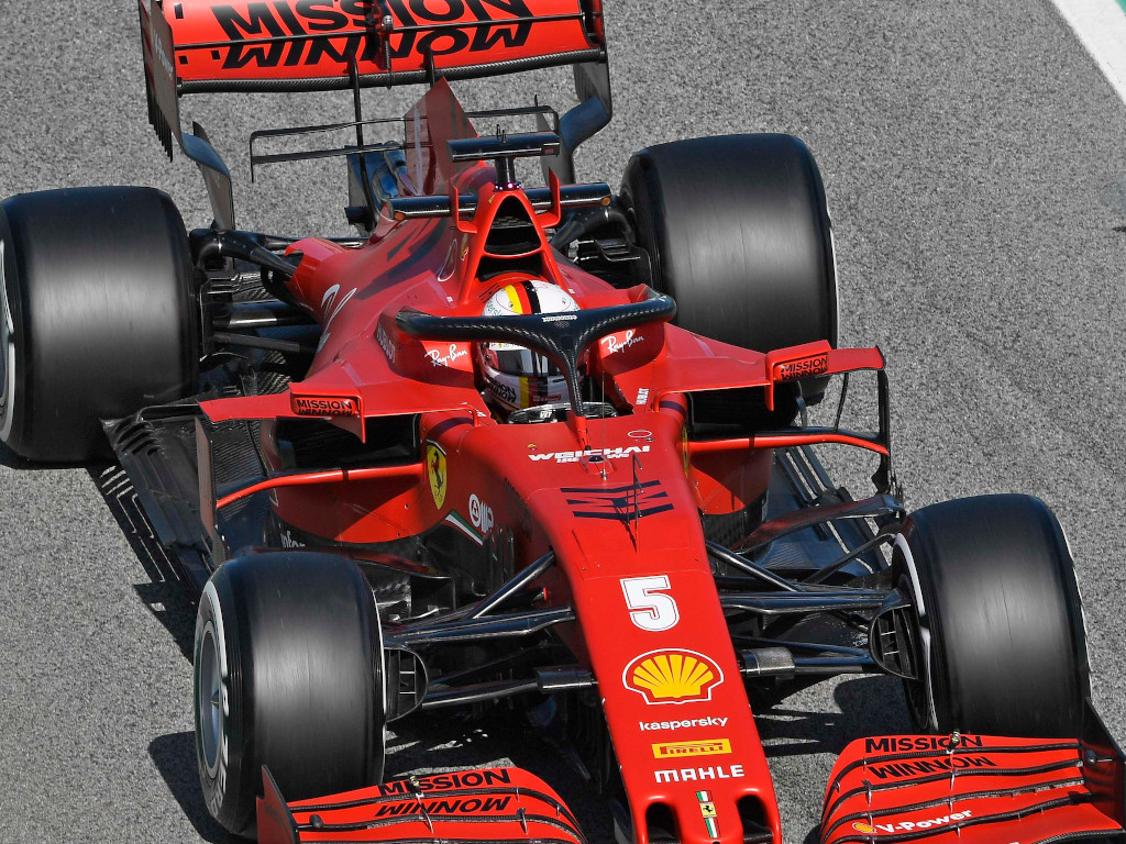 Sebastian Vettel reveals his name for his SF1000