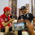Sebastian Vettel and Lewis Hamilton media Melbourne 2020
