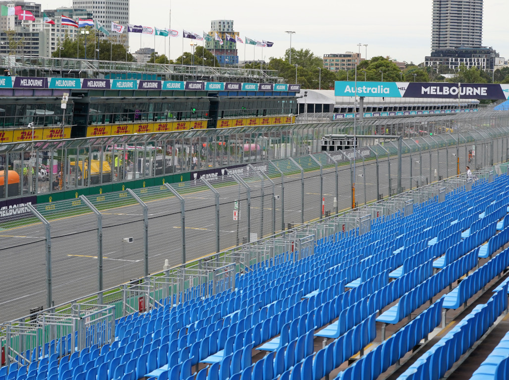 Albert Park circuit Melbourne Australian GP PA