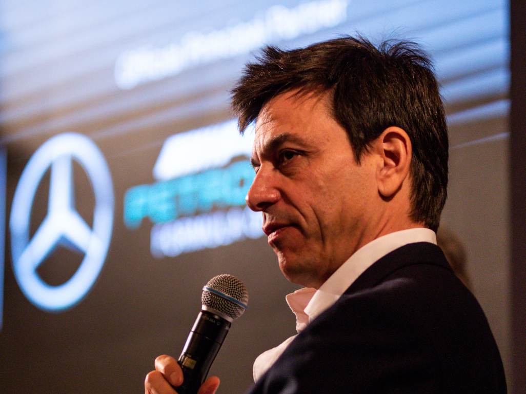Mercedes Toto Wolff pa