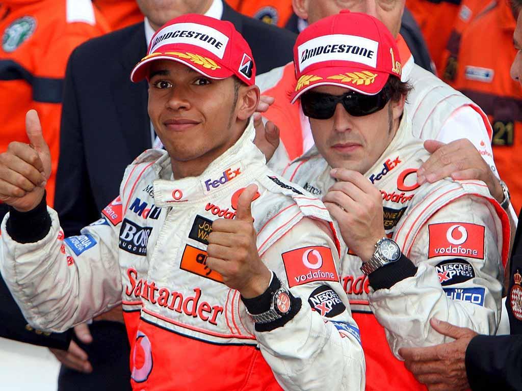 Lewis Hamilton Fernando Alonso