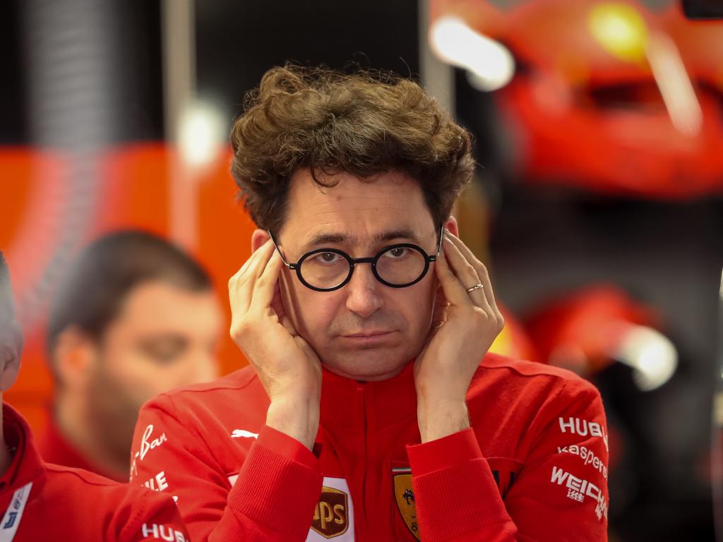 Mattia Binotto, Ferrari's principal