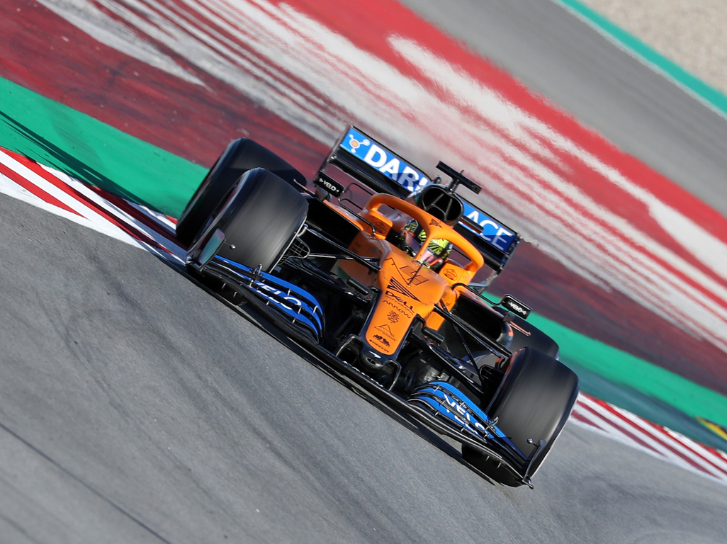 Lando Norris and the McLaren MCL 35