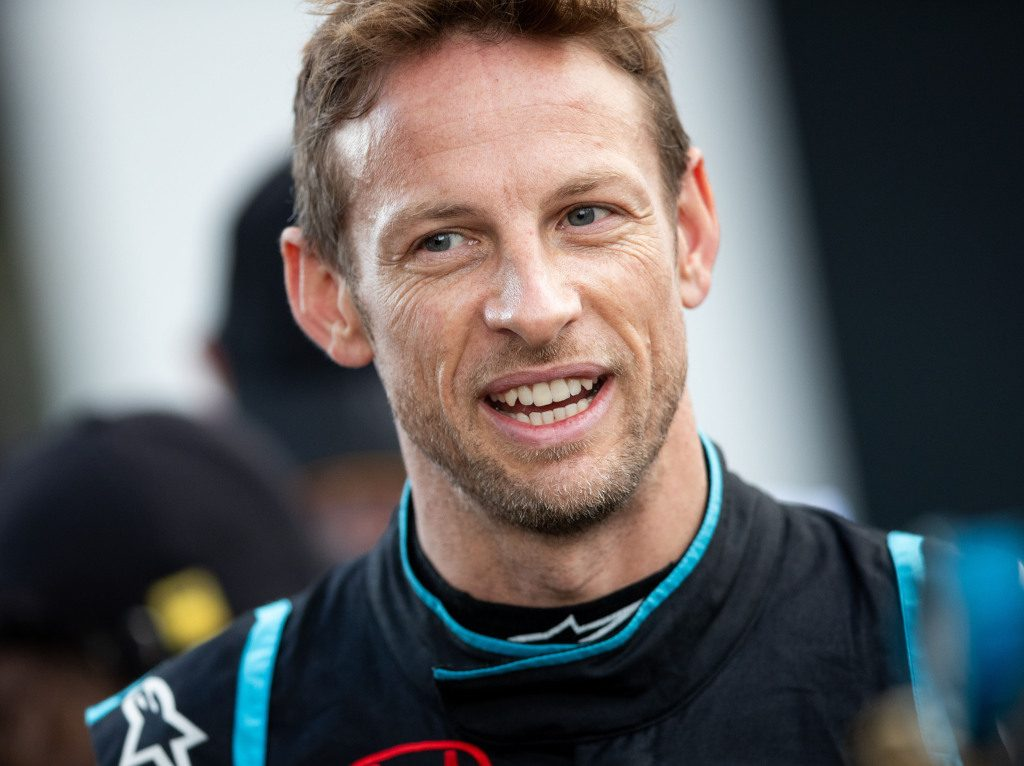 Jenson Button takes his second Legends Trophy win.