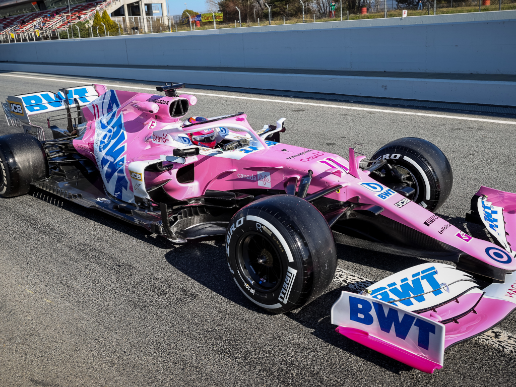 Sergio Perez Racing Point RP20