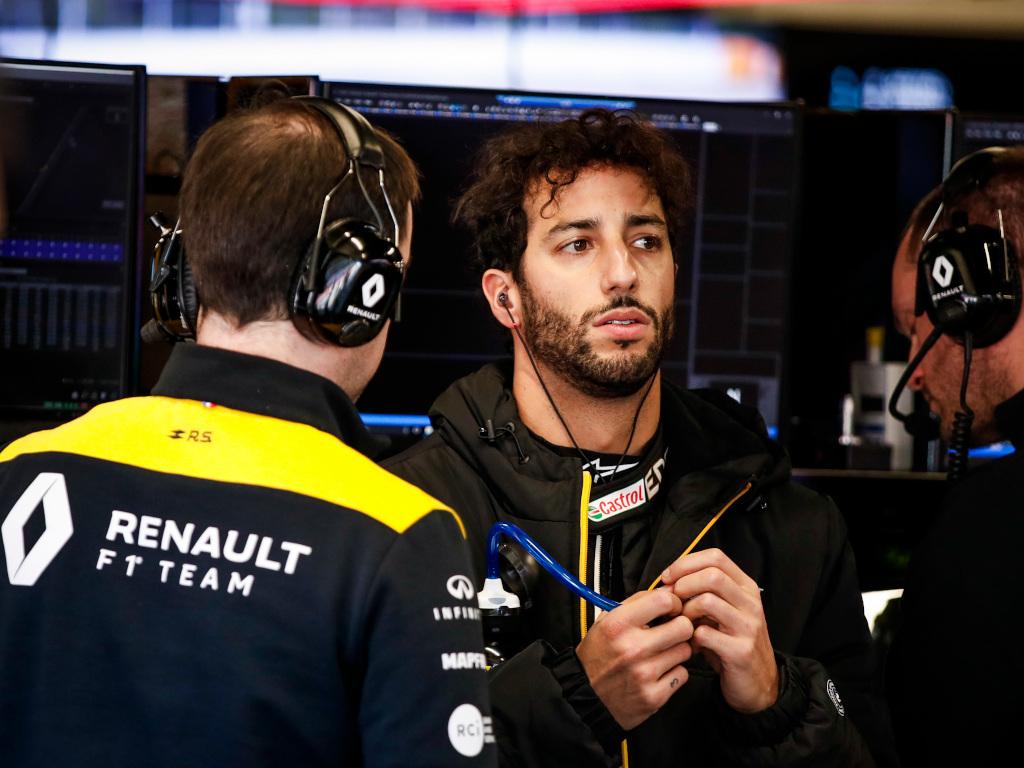 Daniel Ricciardo won't dictate Renault's future strategy says Cyril Abiteboul.