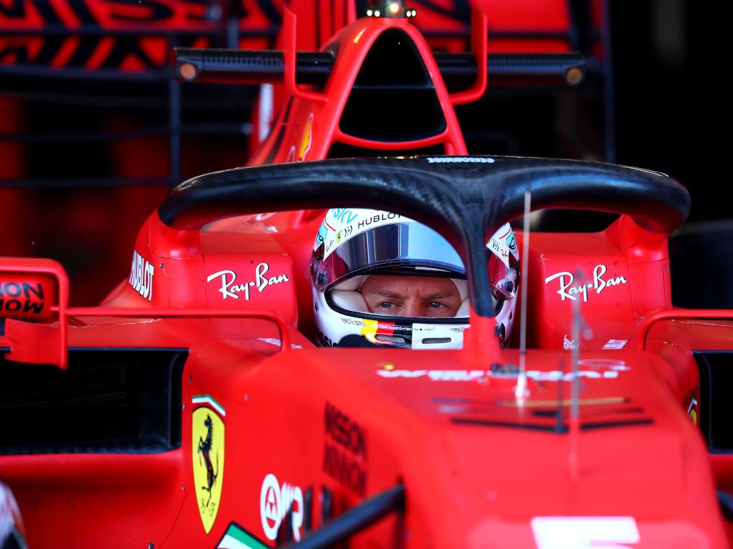 Sebastian Vettel SF1000 pa