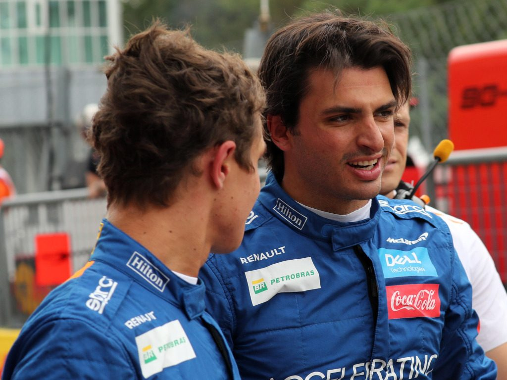 Lando Norris played a part in allowing Carlos Sainz to shine.