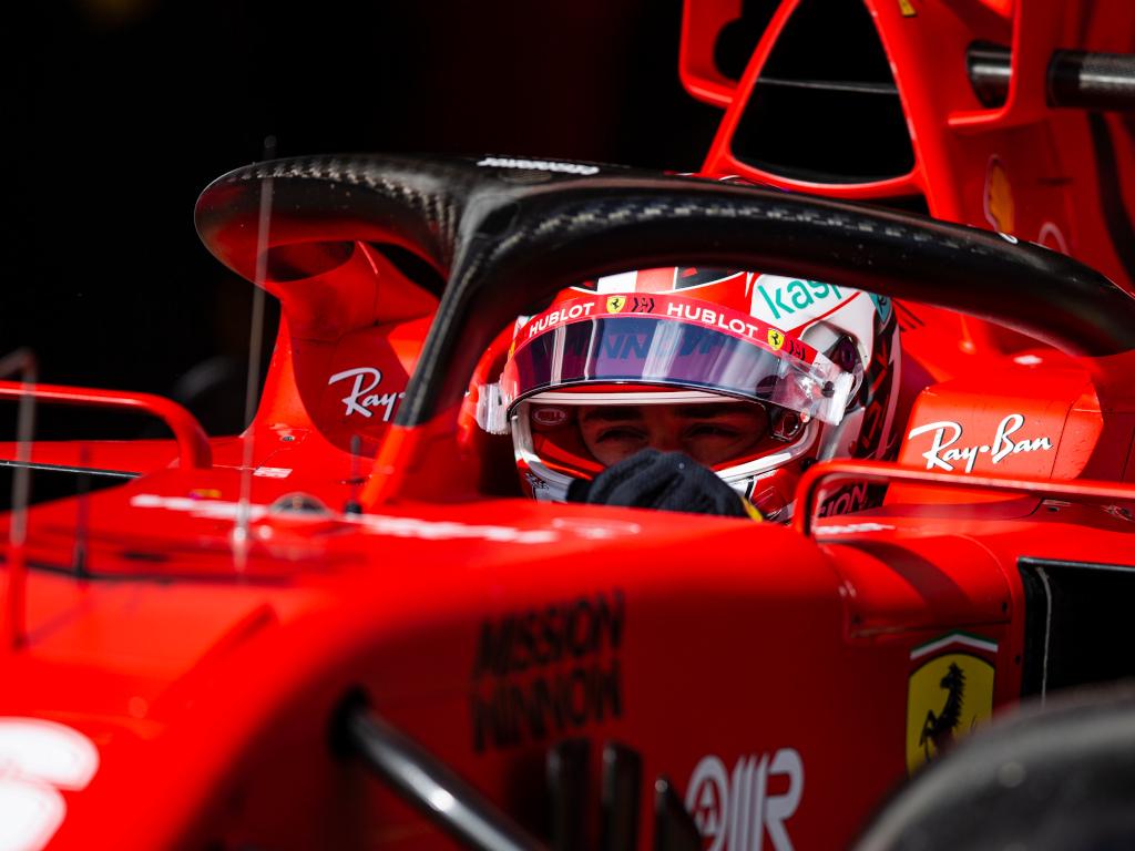 Charles Leclerc names his all-time Ferrari hero