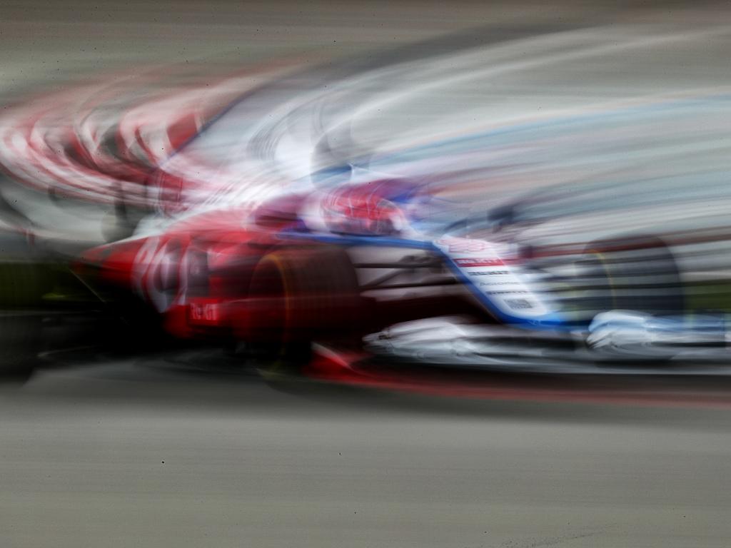 Williams blurred