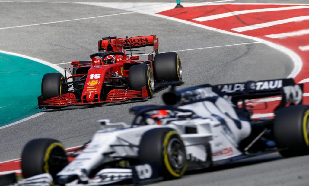 Ferrari and AlphaTauri