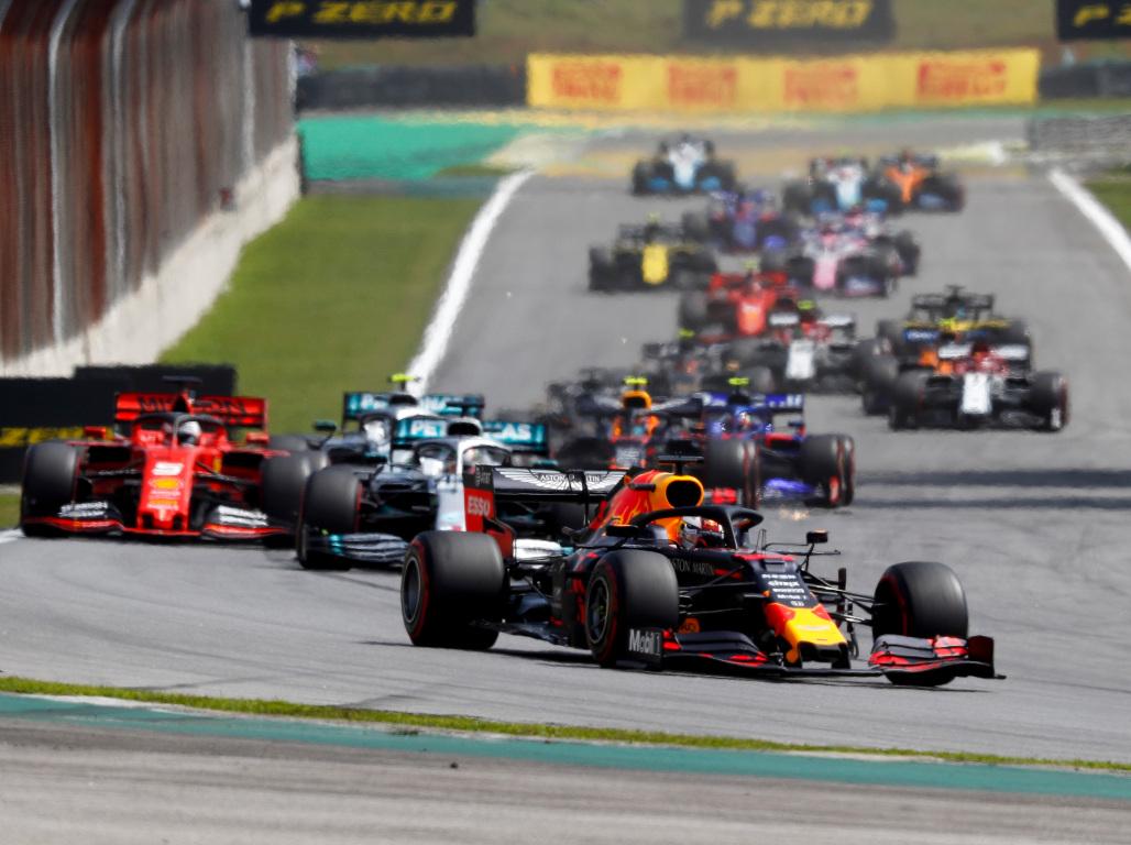 Brazil GP start 2019 pa