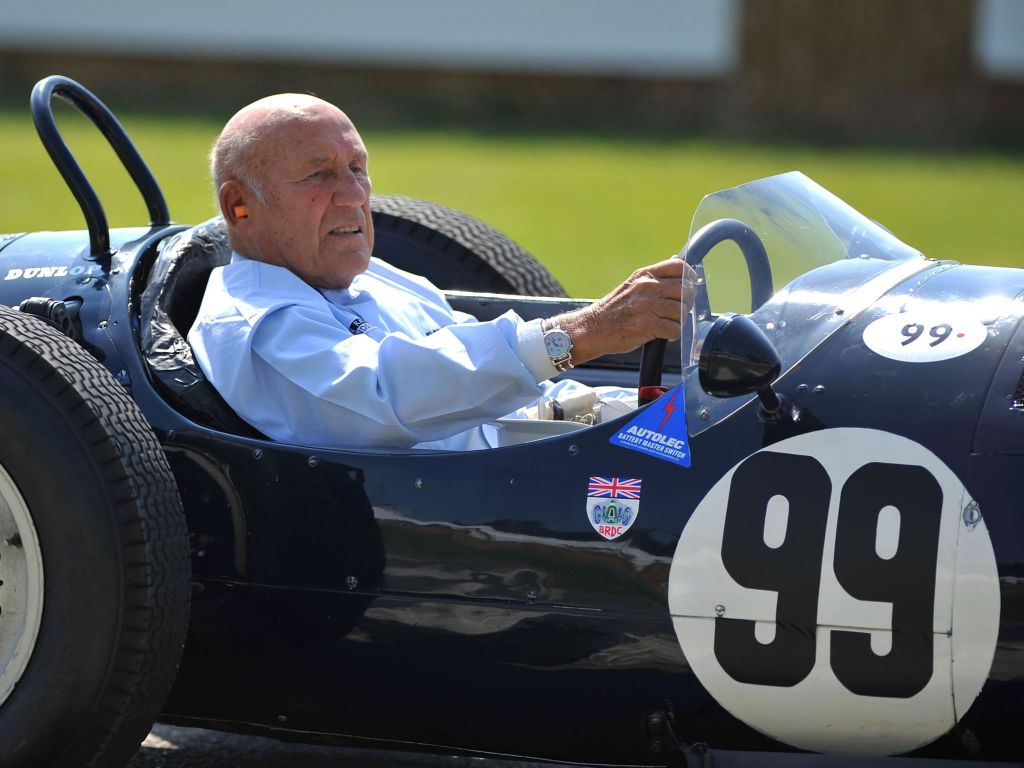 Few can compare to Sir Stirling Moss' talent says Sebastian Vettel.