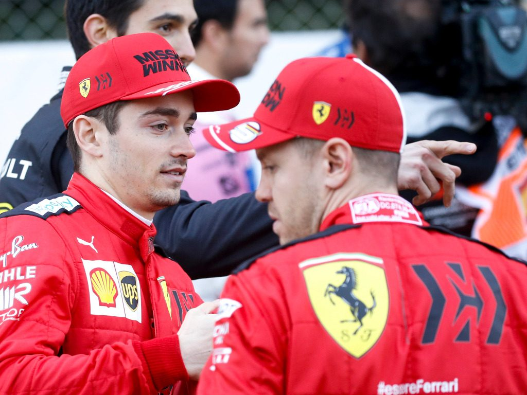 Charles-Leclerc-and-Sebastian-Vettel-2020-pa