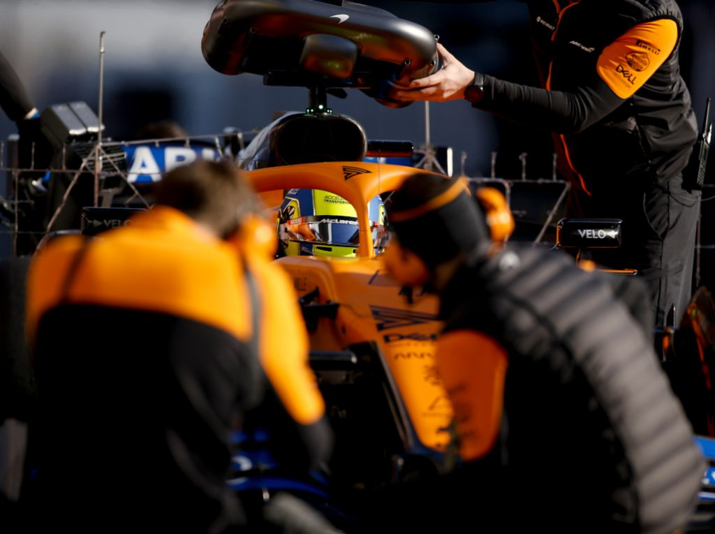 McLaren mechanics pa