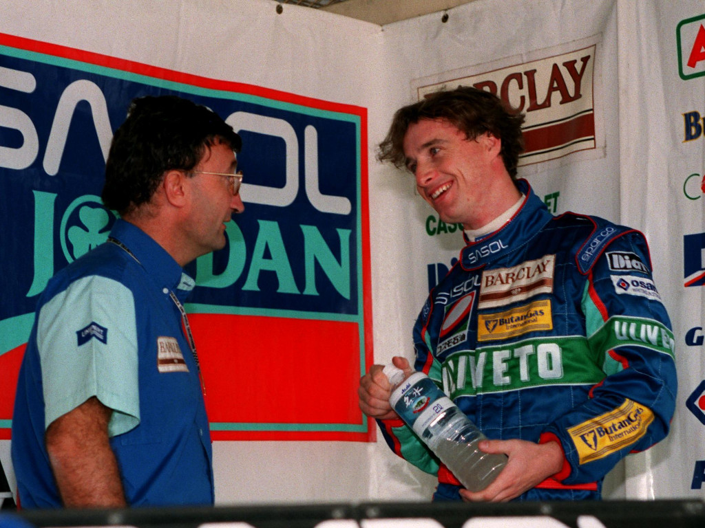 'Lazy Eddie Irvine could have been a World Champ'