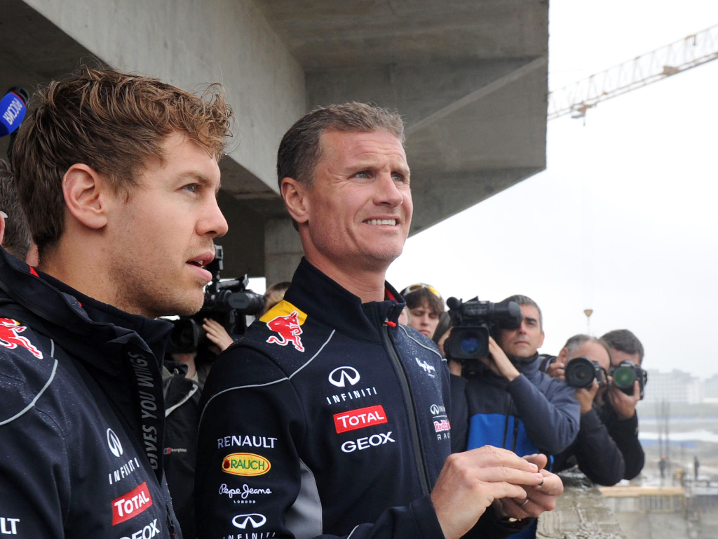 David Coulthard Sebastian Vettel