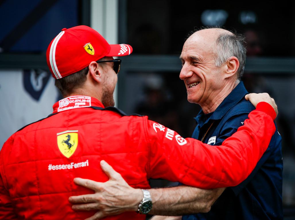 Sebastian Vettel and Franz Tost 2020 pa