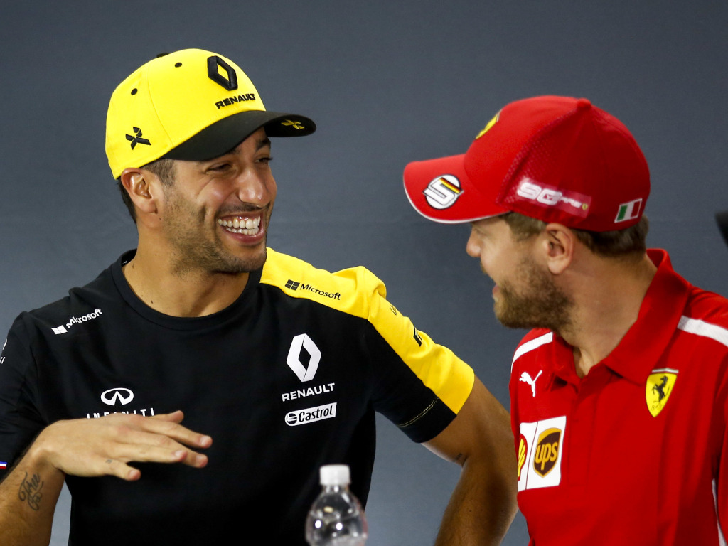 Daniel Ricciardo, Sebastian Vettel open to closed-door races