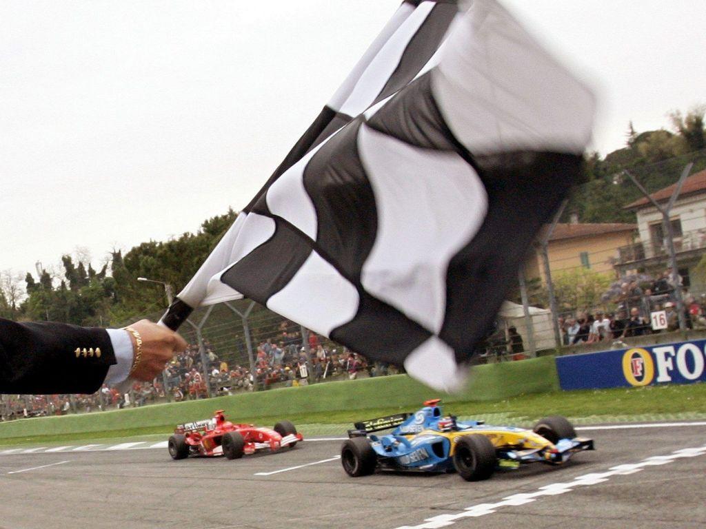 Fernando Alonso Michael Schumacher PA