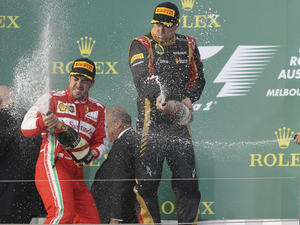 "Fernando Alonso and Kimi Raikkonen are ""surprisingly"" similar says Romain Grosjean."