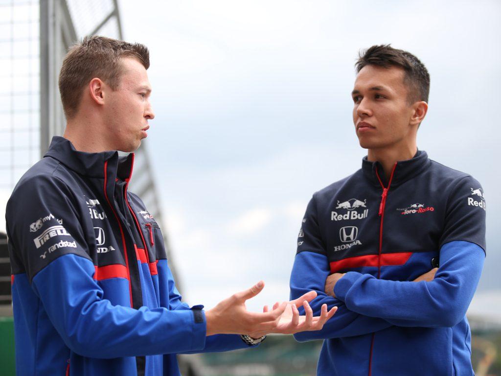 Daniil Kvyat 'wasn't happy' with Alex Albon's promotion